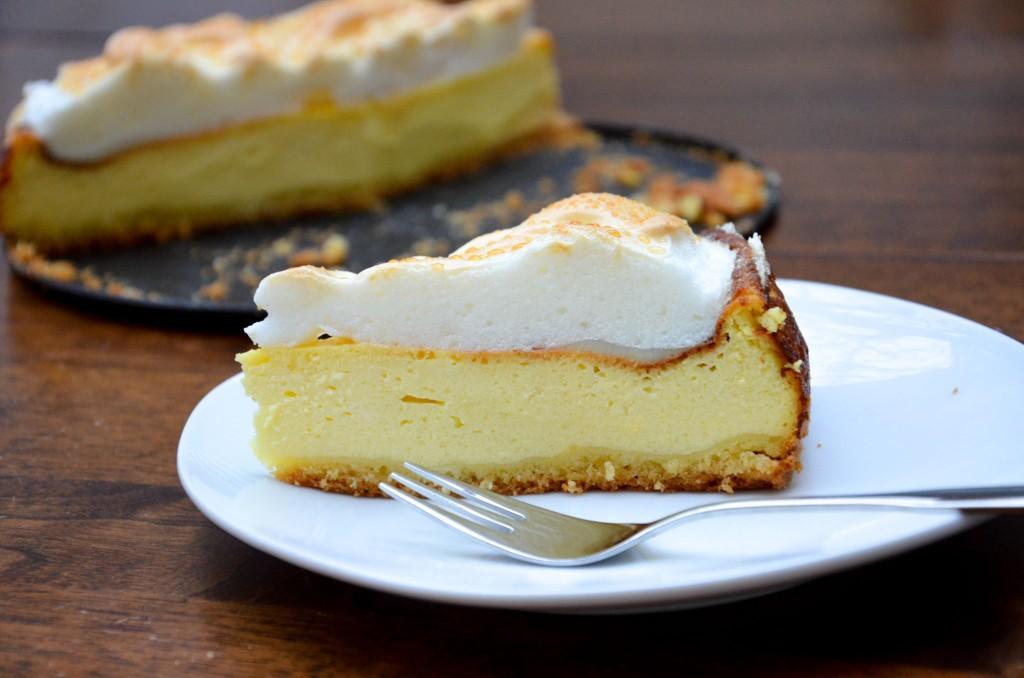Topfen-Baiser-Torte