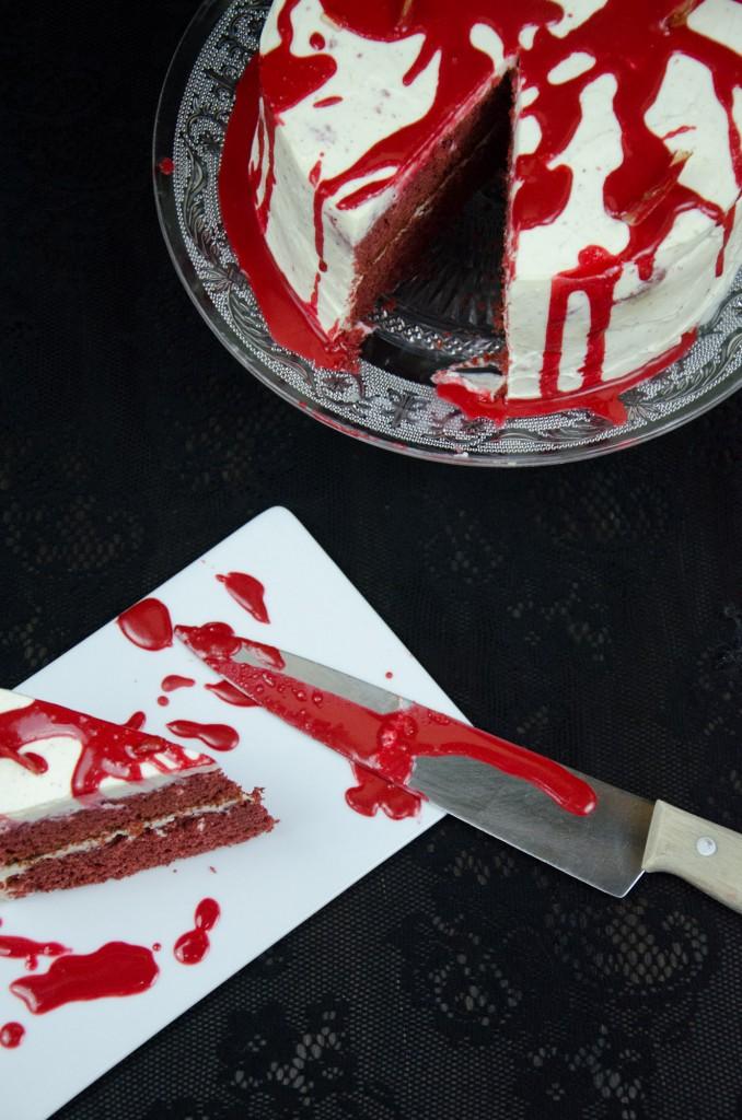 Halloween Red Velvet Cake-10