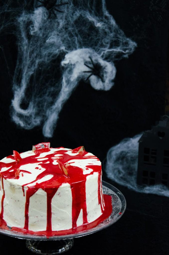 Halloween Red Velvet Cake-3