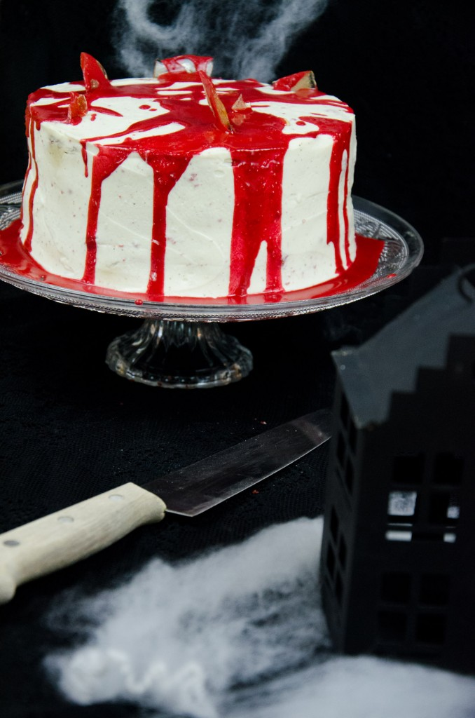 Halloween Red Velvet Cake-6