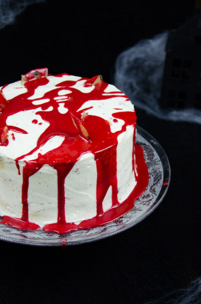 Halloween Red Velvet Cake