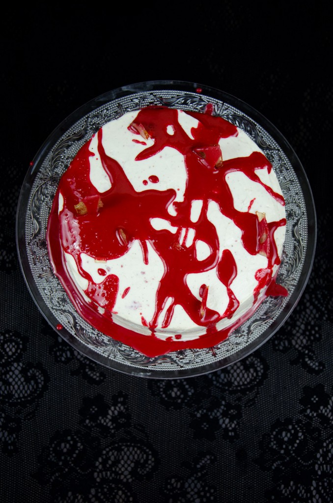 Halloween Red Velvet Cake-7