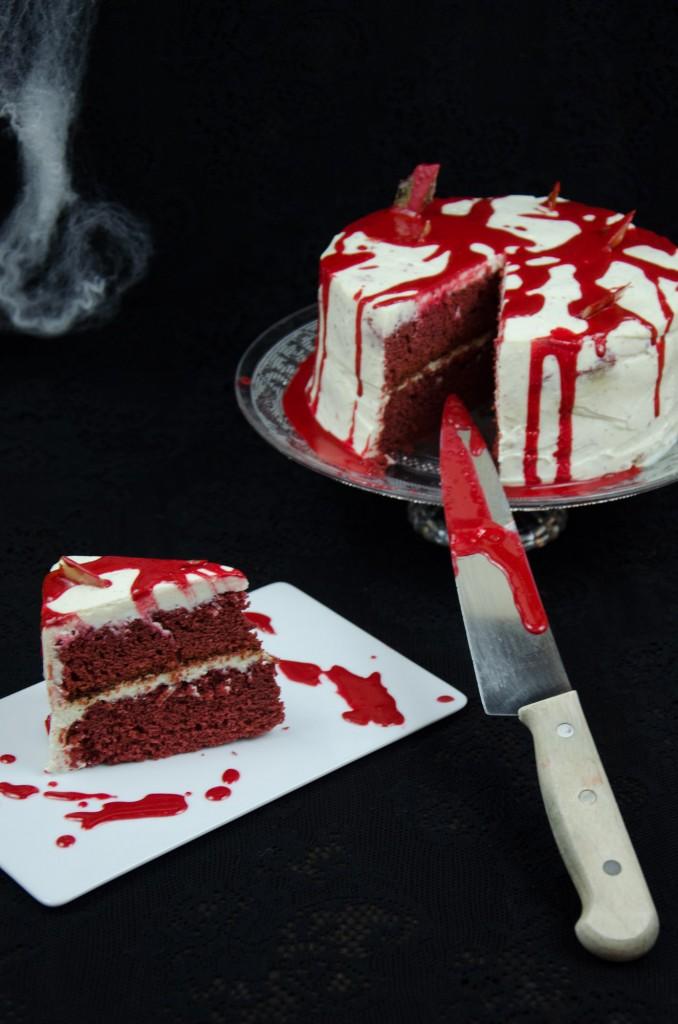 Halloween Red Velvet Cake-8
