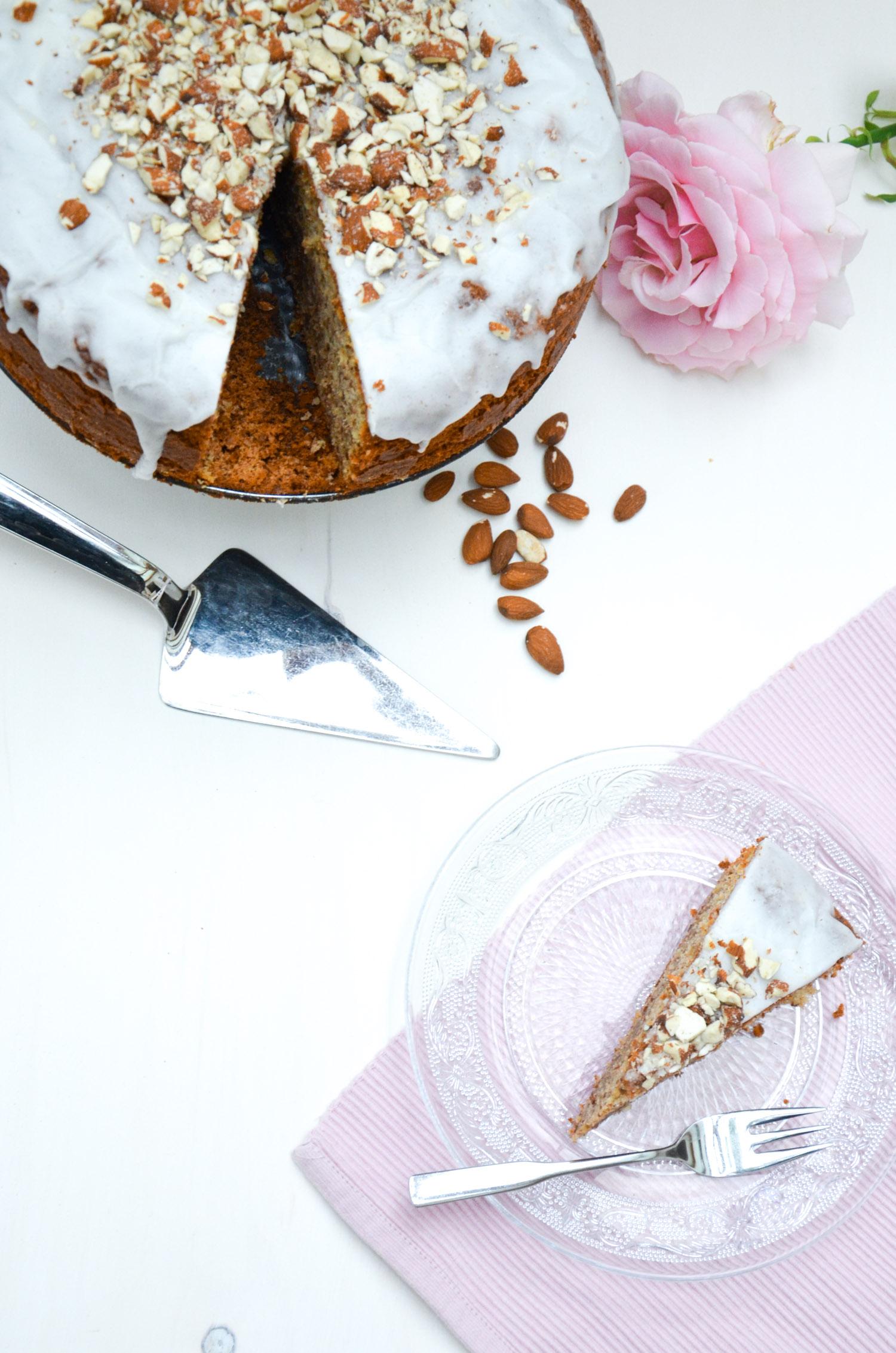Mandel Honig Kuchen Baking Barbarine