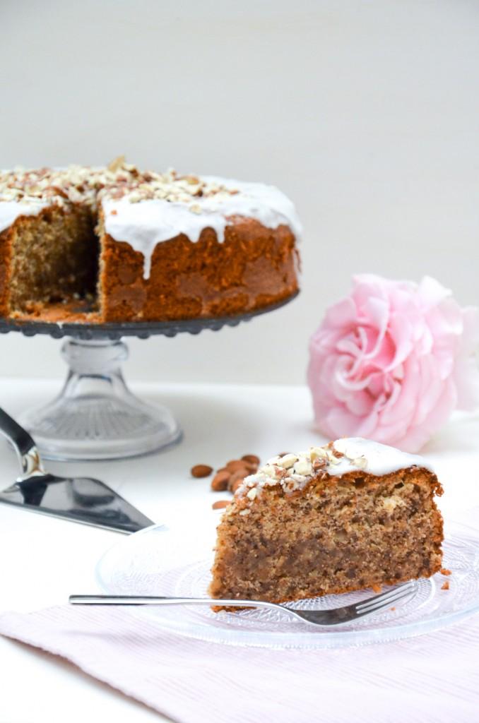 Mandel-Honig-Kuchen