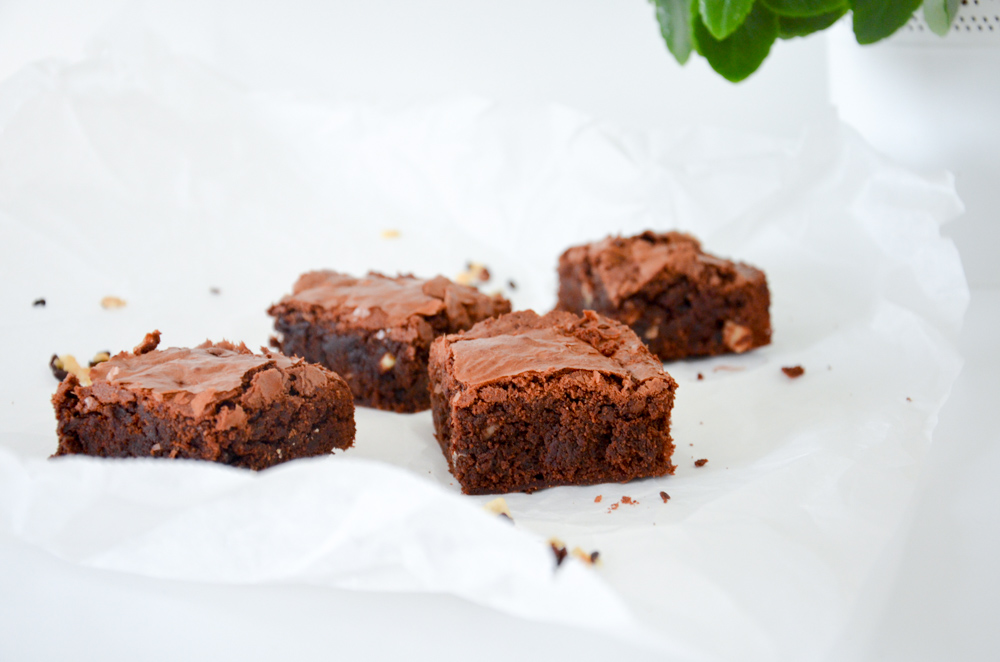 Kokos-Nuss Brownies-1