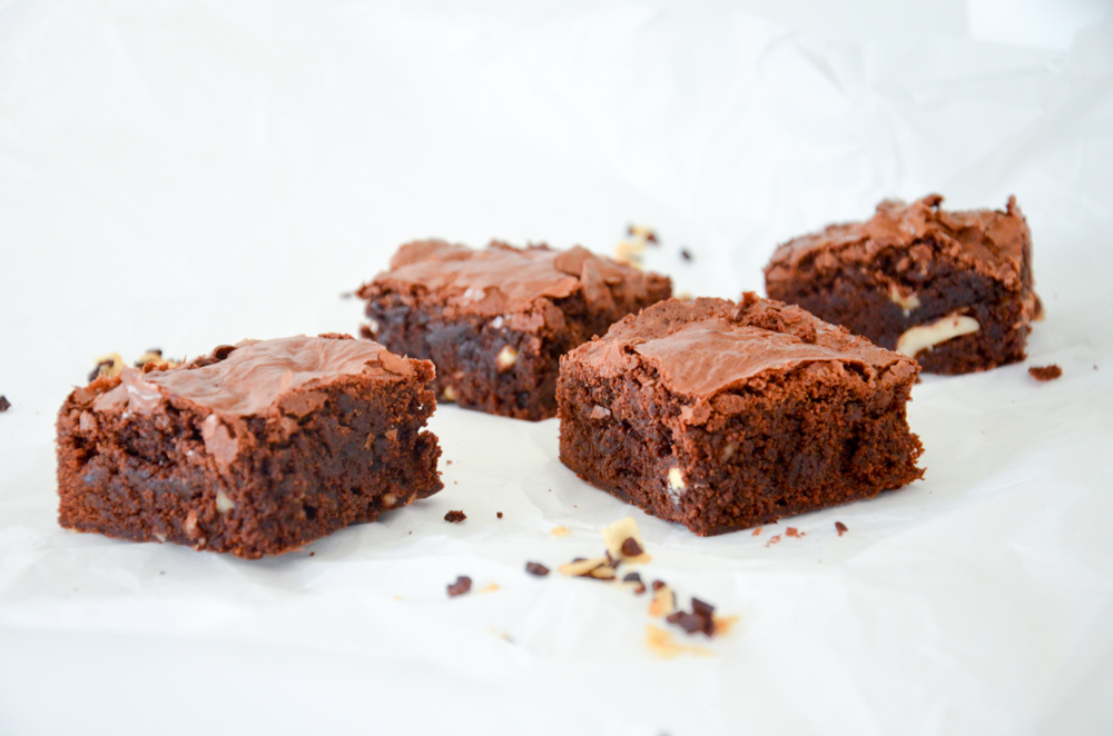 Kokos-Nuss Brownies-3