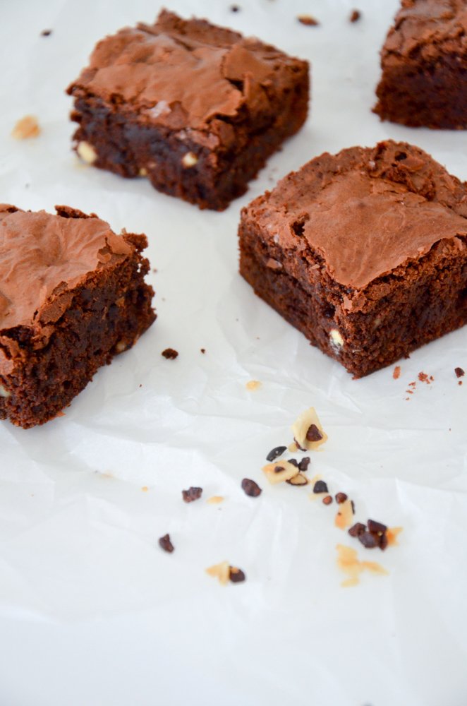 Kokos-Nuss Brownies-4