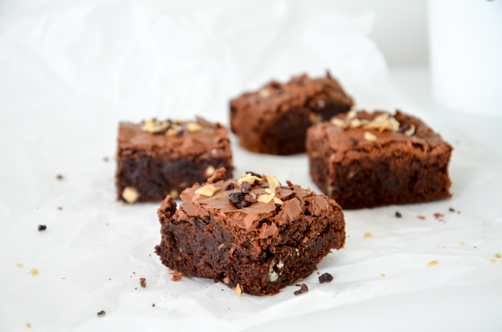 Kokos-Nuss Brownies-6