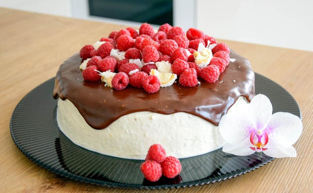 Mohn Kokos Torte-4