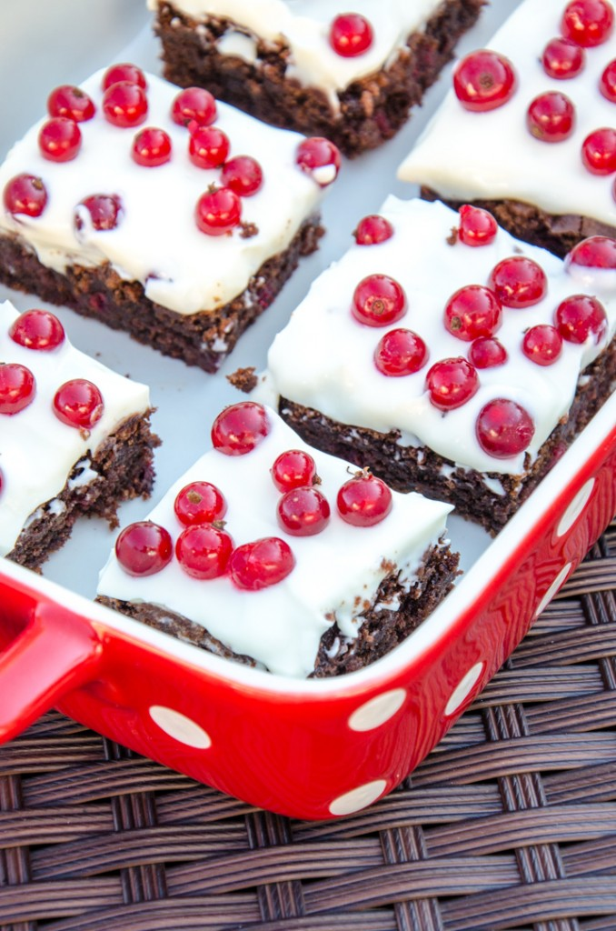 Ribisel Brownies
