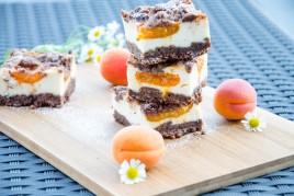 Schokolade - Marillen - Streuselkuchen
