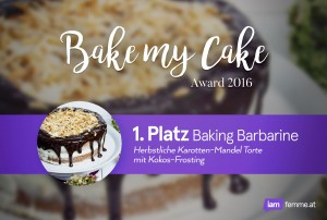 Bake my Cake Award