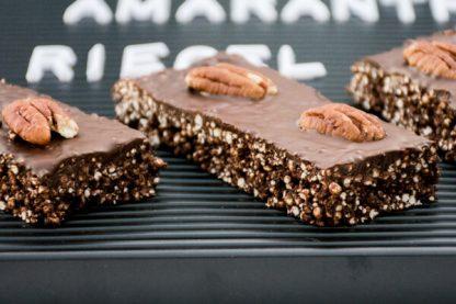 Gesunde Quinoa Amaranth Riegel (glutenfrei)