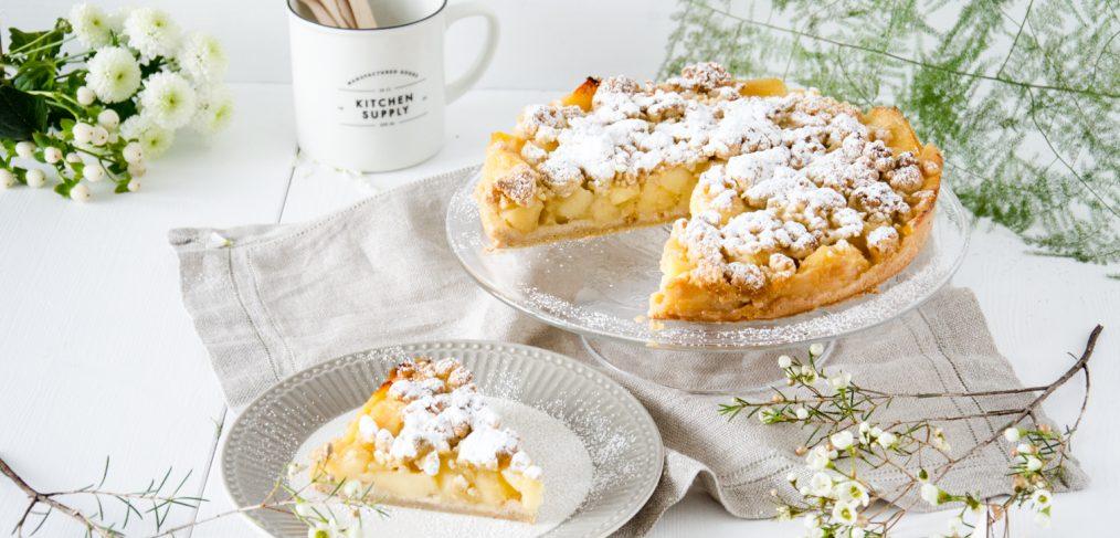 Schnelle Apfel Streusel Torte Baking Barbarine