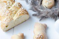 Fluffigster Oster-Germzopf & Osterhäschen
