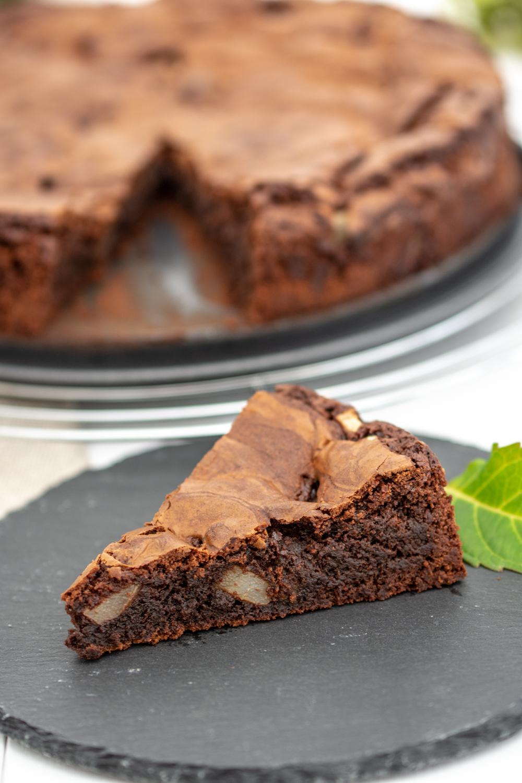 Saftigster Schoko Birnen Kuchen Aller Zeiten Baking Barbarine