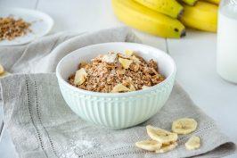 Bananen-Kokos-Granola
